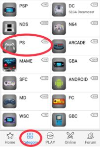 download PSP games on Android