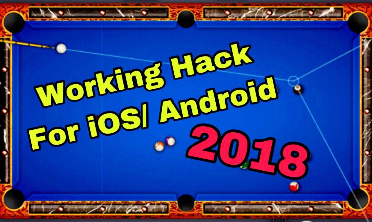8 ball pool hack ios 2018