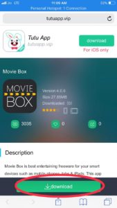 How To Download Movie Box On Iphone Ios12 Ios 11