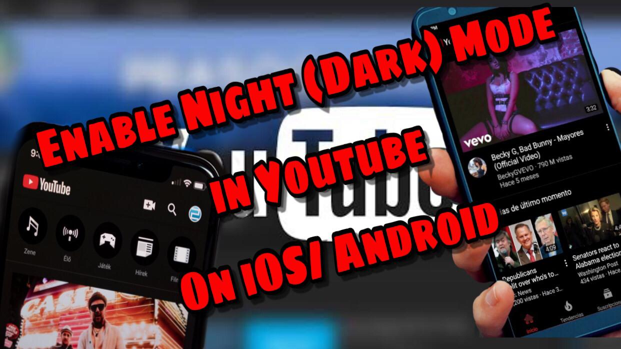 youtube night mode app android