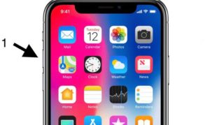 How to Hard Rest iPhone X