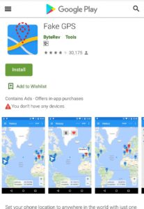 Hack Pokemon Go in Android with Fake GPS