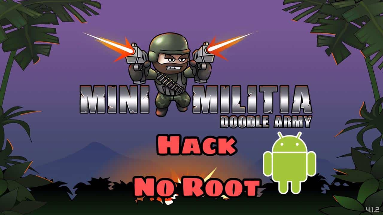 Hack Mini Militia in Android without Root