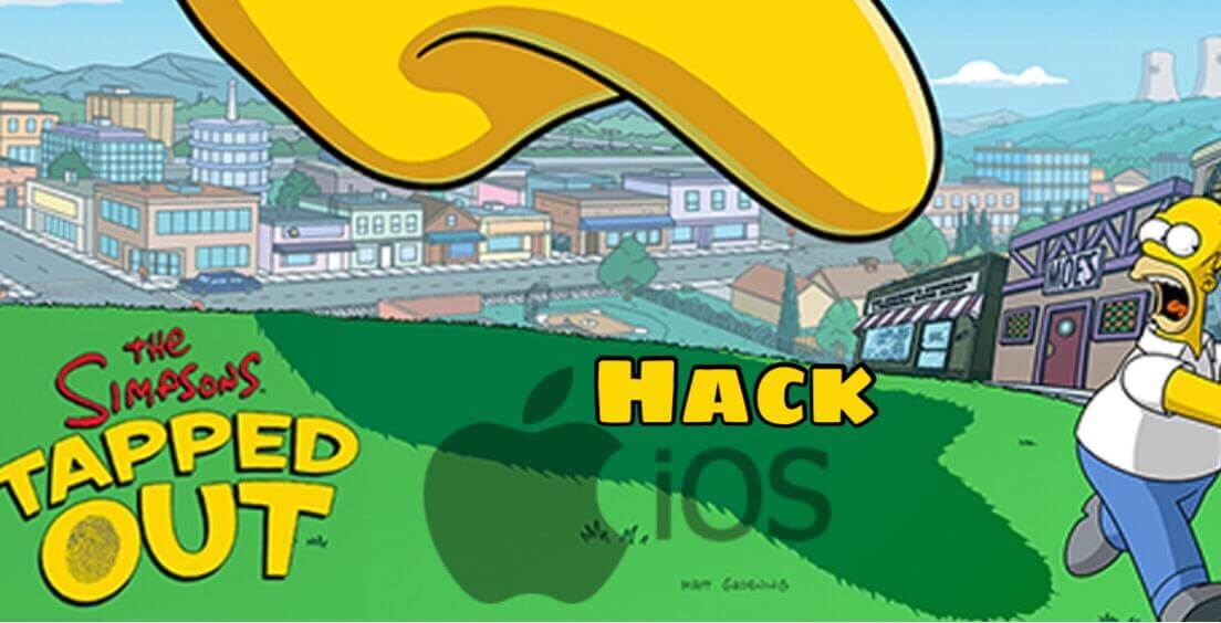 Hack Simpsons Tapped Out on iOS without Jailbreak