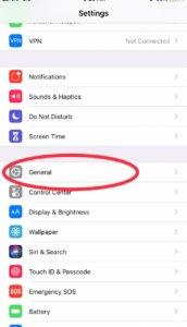 Stop iOS update in Progress
