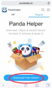 Download Pandahelper in iOS
