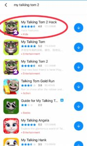 Hack My Talking Tom 2 on Android