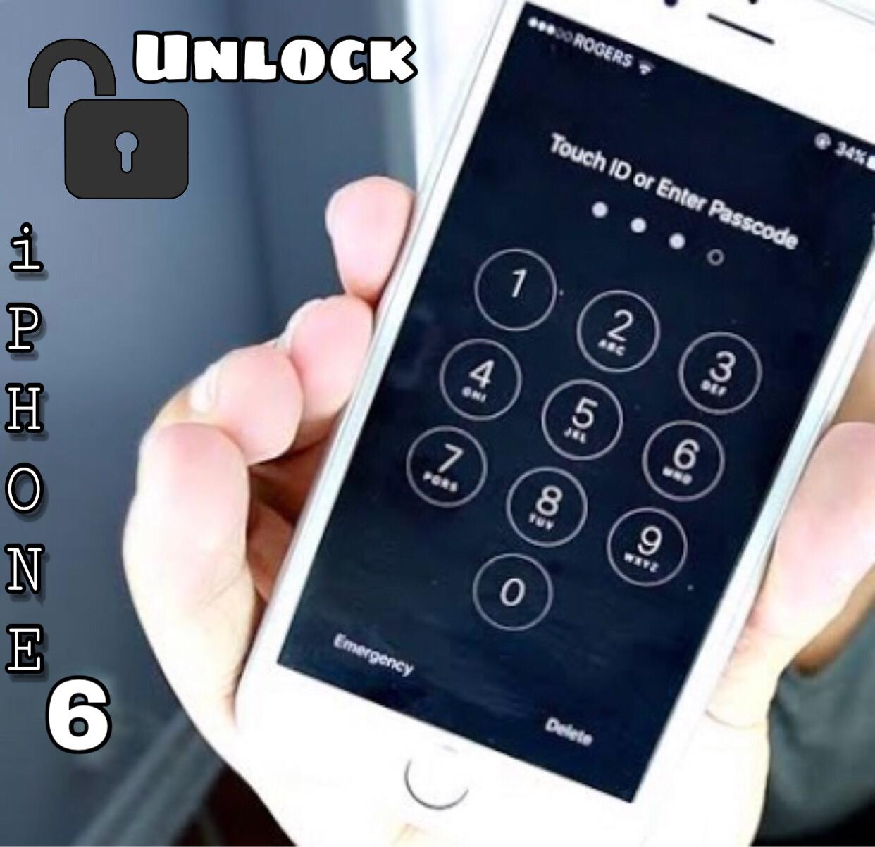 How to Unlock iPhone 6 passcode