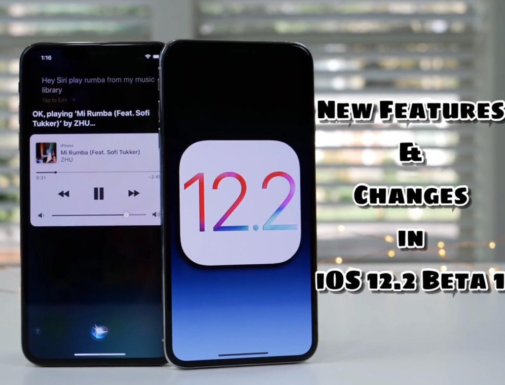 New Features and Changes in iOS 12.2 Beta 1