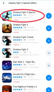Shadow Fight 2 Special Edition free download ios