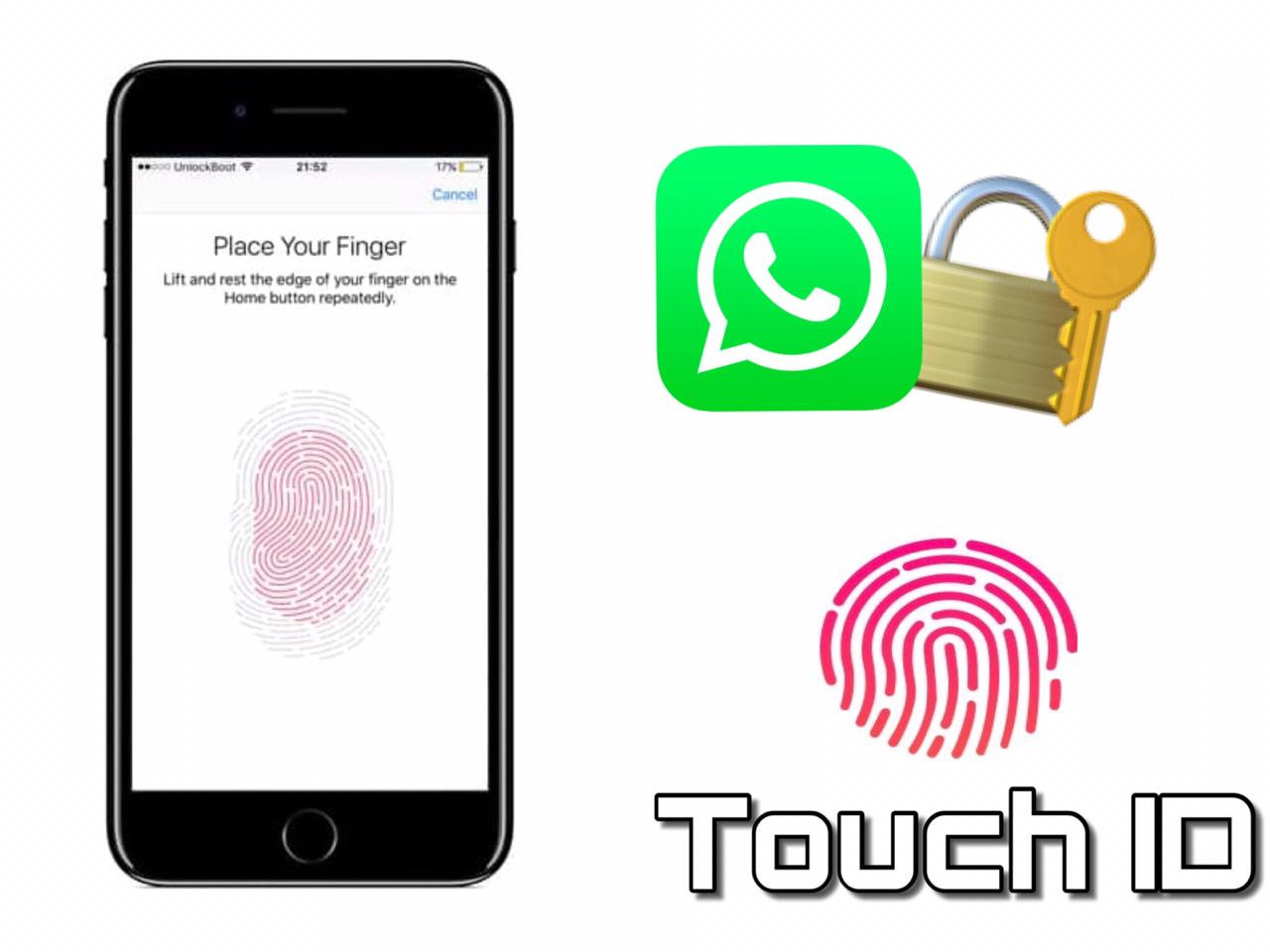 How to Lock Whatsapp on iPhone with fingerprint