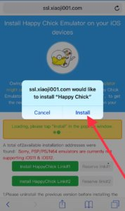install happy chick ios