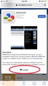 SNES4iOS iOS 12 | Download SNES Emulator on iOS 12