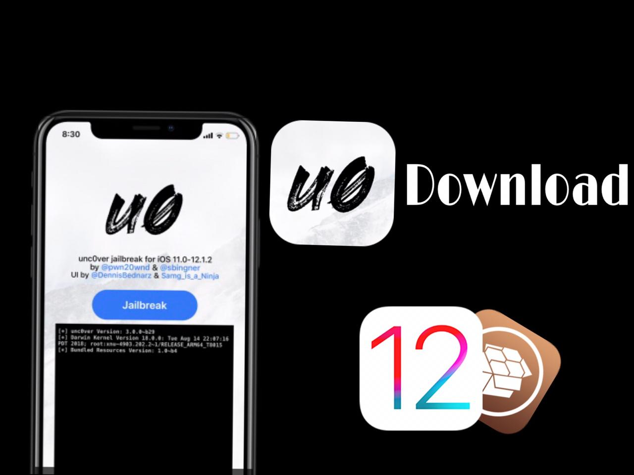 Uncover Jailbreak iOS 12 Download (Without Computer)