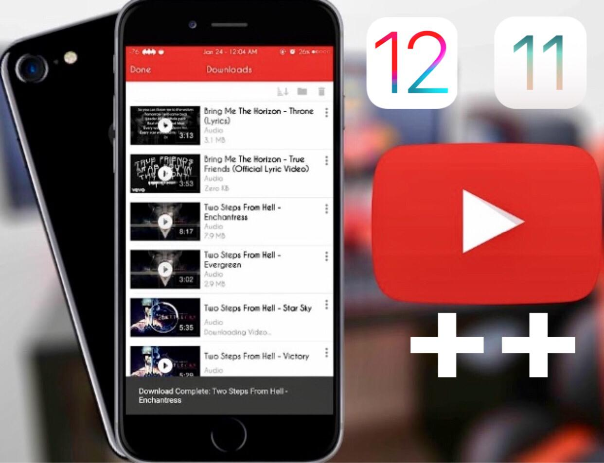 Youtube++ Download iOS13