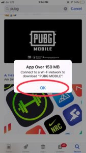 Download PUBG mobile on iPhone without wifi
