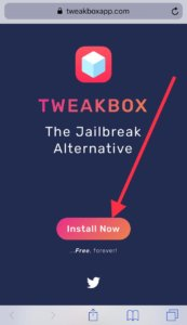 Install tweakbox