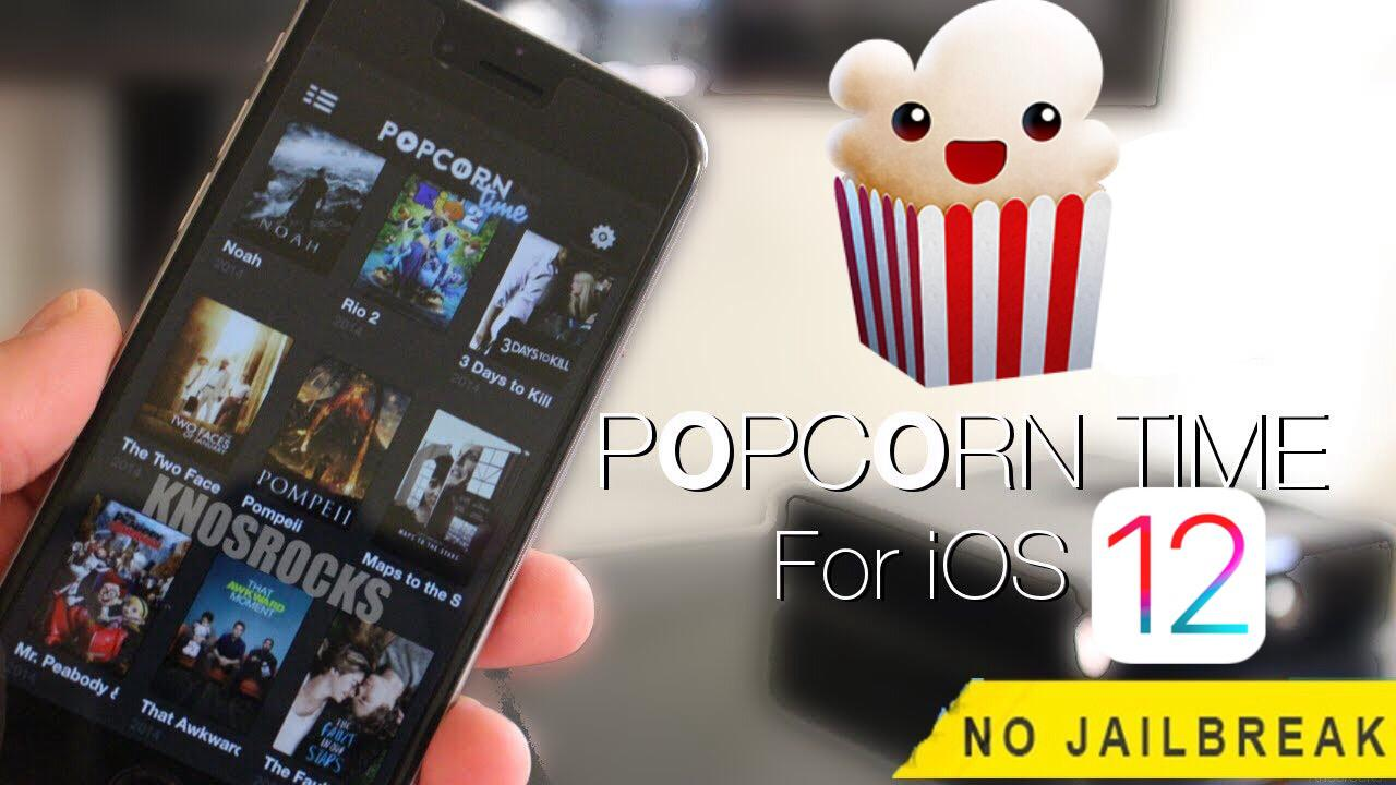 popcorn time iOS 12 download