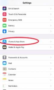app store location