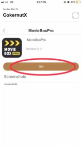 Moviebox iOS 12 Download (No Jailbreak)