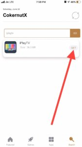 Install iPlayTV iPhone