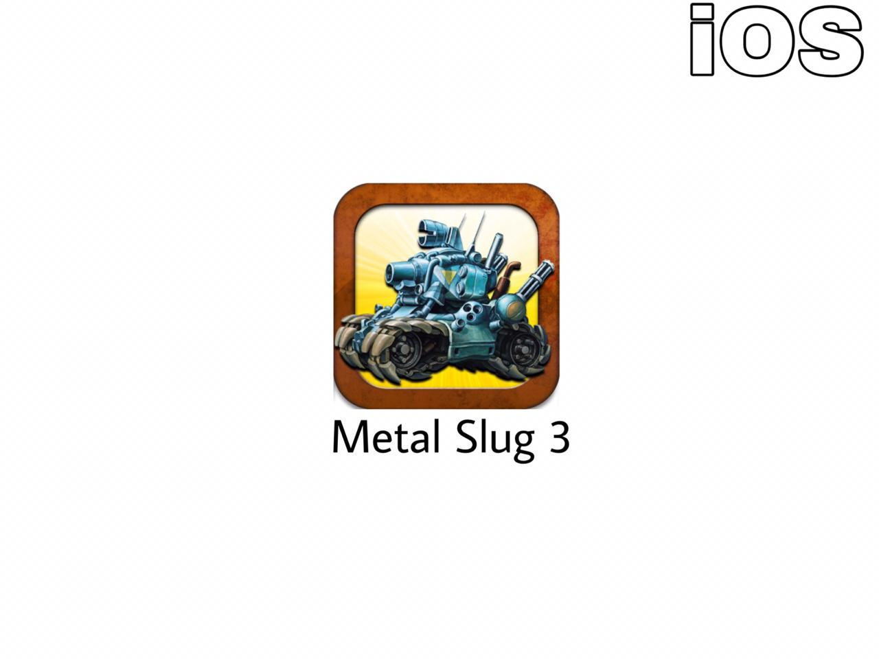 metal slug 3 free download ios