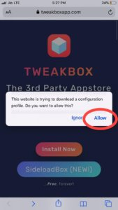 Tweakbox download asphalt 9