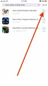 Download harry potter wizards unite hack iOS