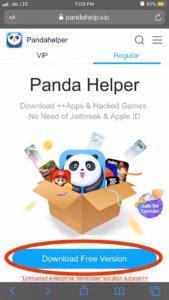 download pandahelper to hack harry potter wizards unite ios
