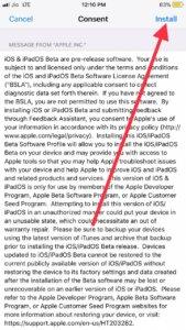 Install iOS 13 beta 5
