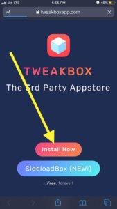 Tweakbox to download archero
