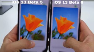 3D touch preview reduced in size in beta 6