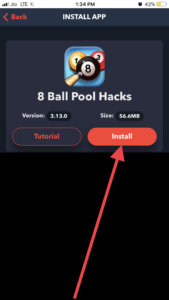 Install 8 ball pool hack iOS