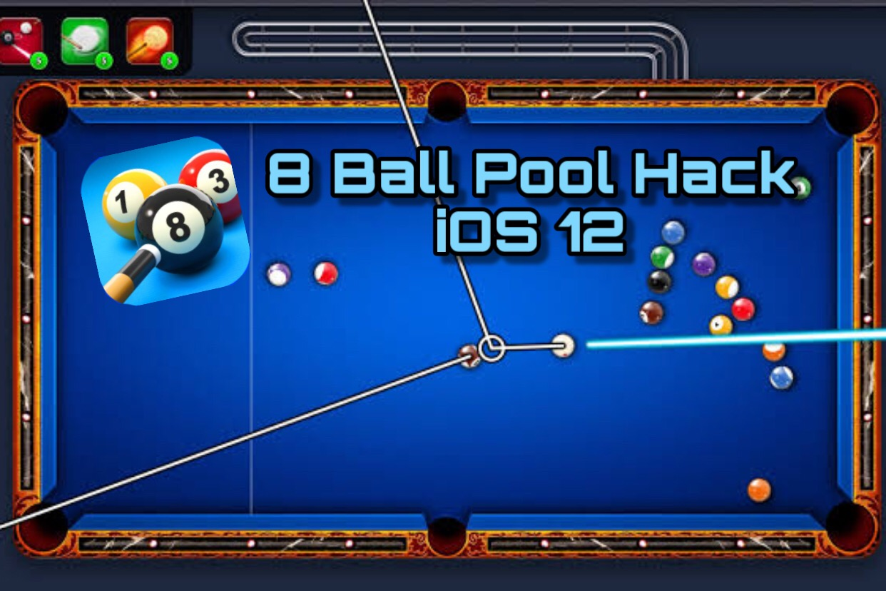 8 Ball Pool Hack iOS 12/ iOS 11 (Download)