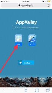 Install appp valley