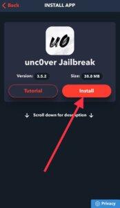 Uncover jailbreak download iOS 12.4