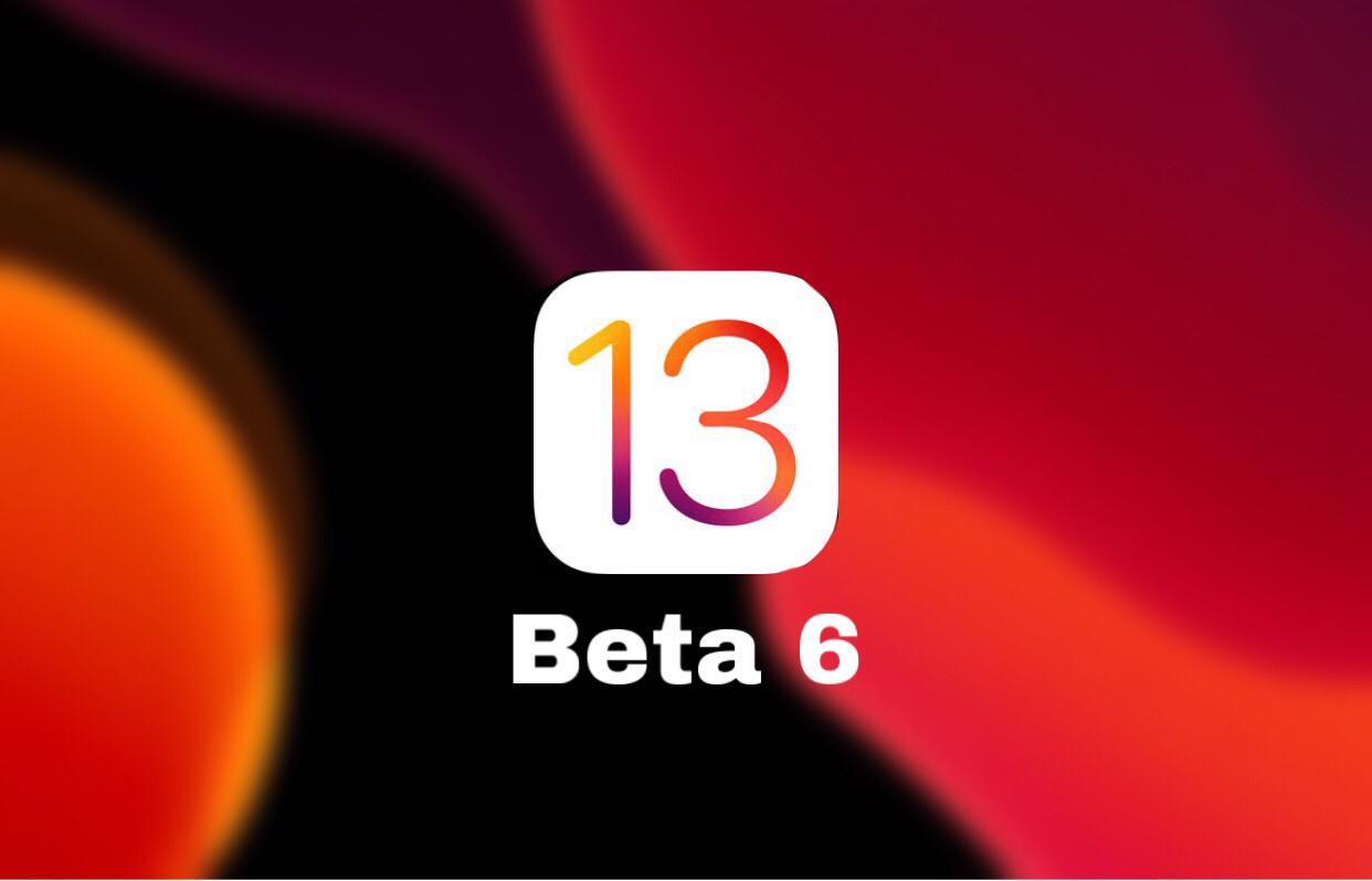 iOS 13 beta 6 Download