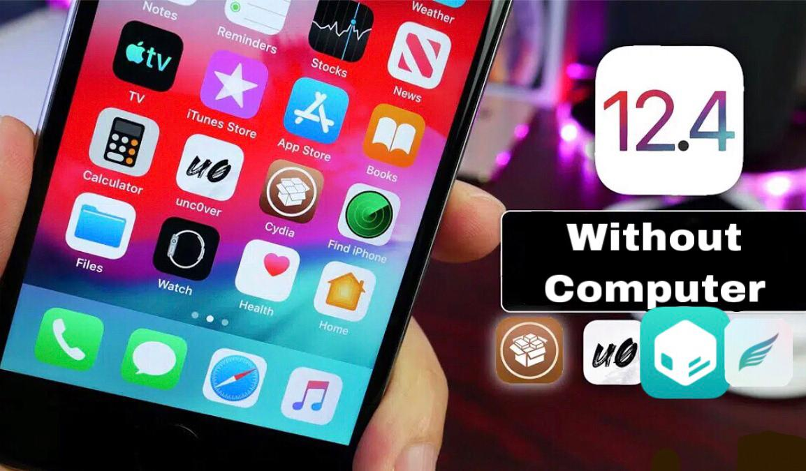 How to jailbreak iOS 12.4 without computer
