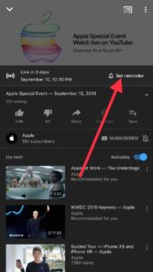 Watch apple specail event 2019 live youtube