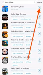 Darts of Fury Hack iOS download