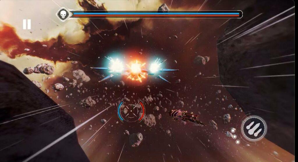 Redout space assault apple arcade