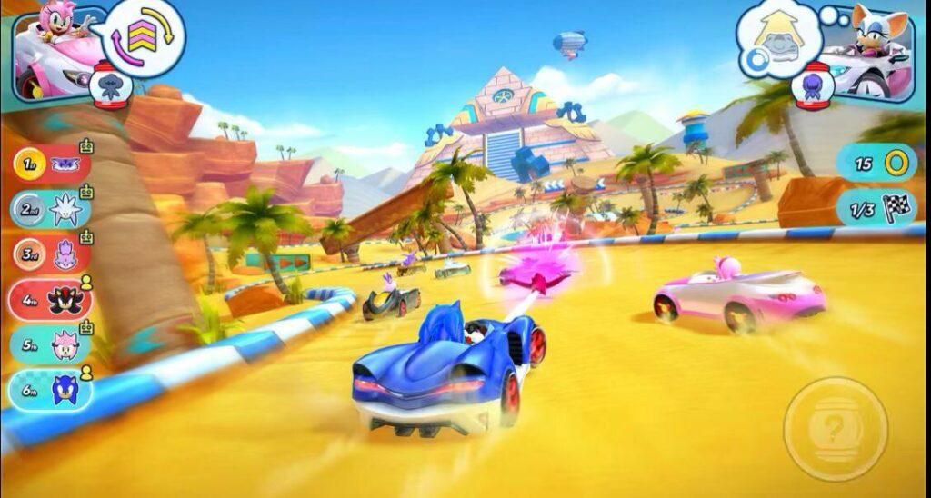 Sonic racing (Apple Arcade games)