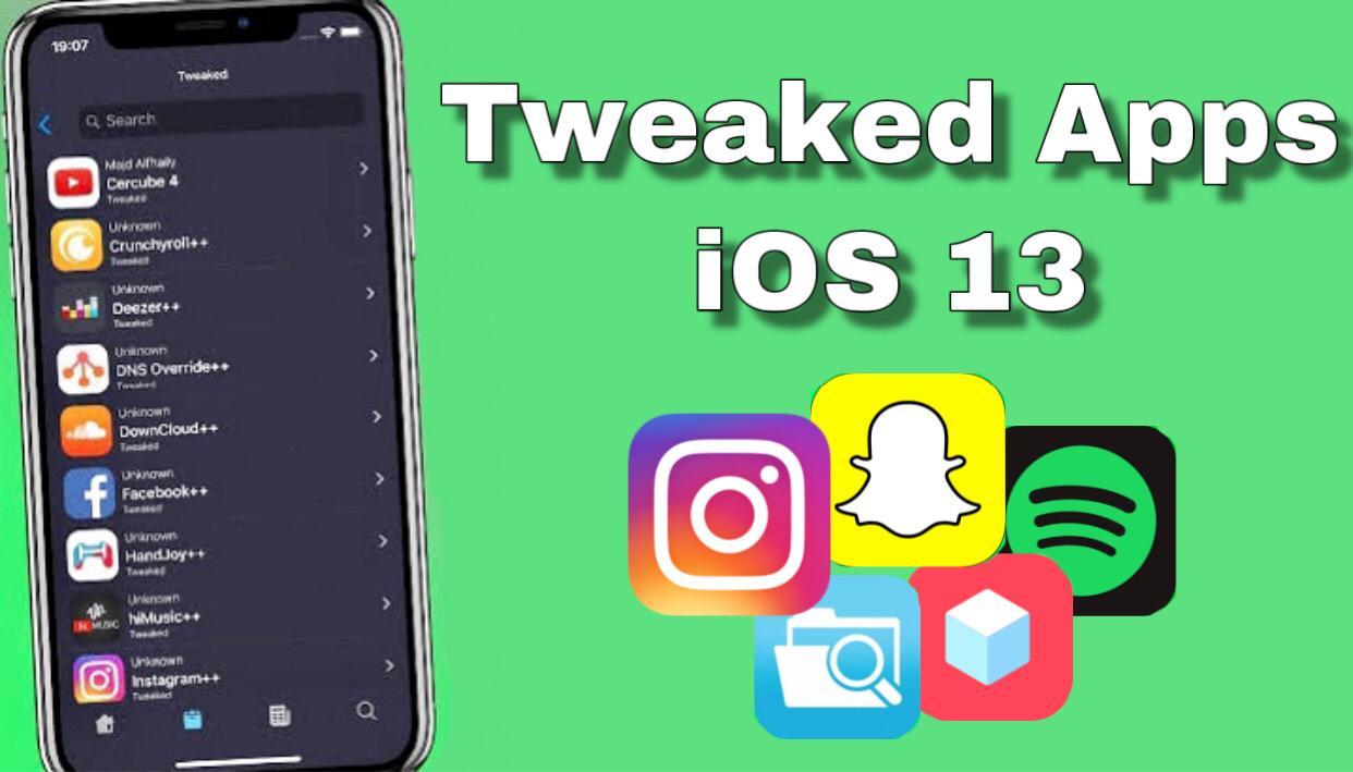 How to download tweaked apps iPhone iOS 13
