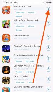 Install kick the buddy hack iOS