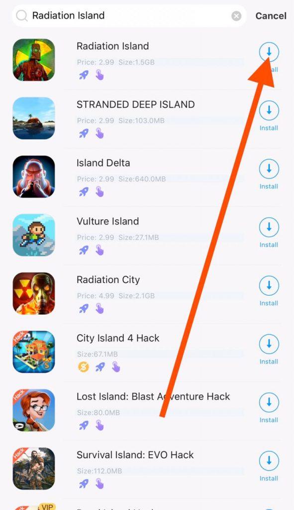 Radiation island free iOS download