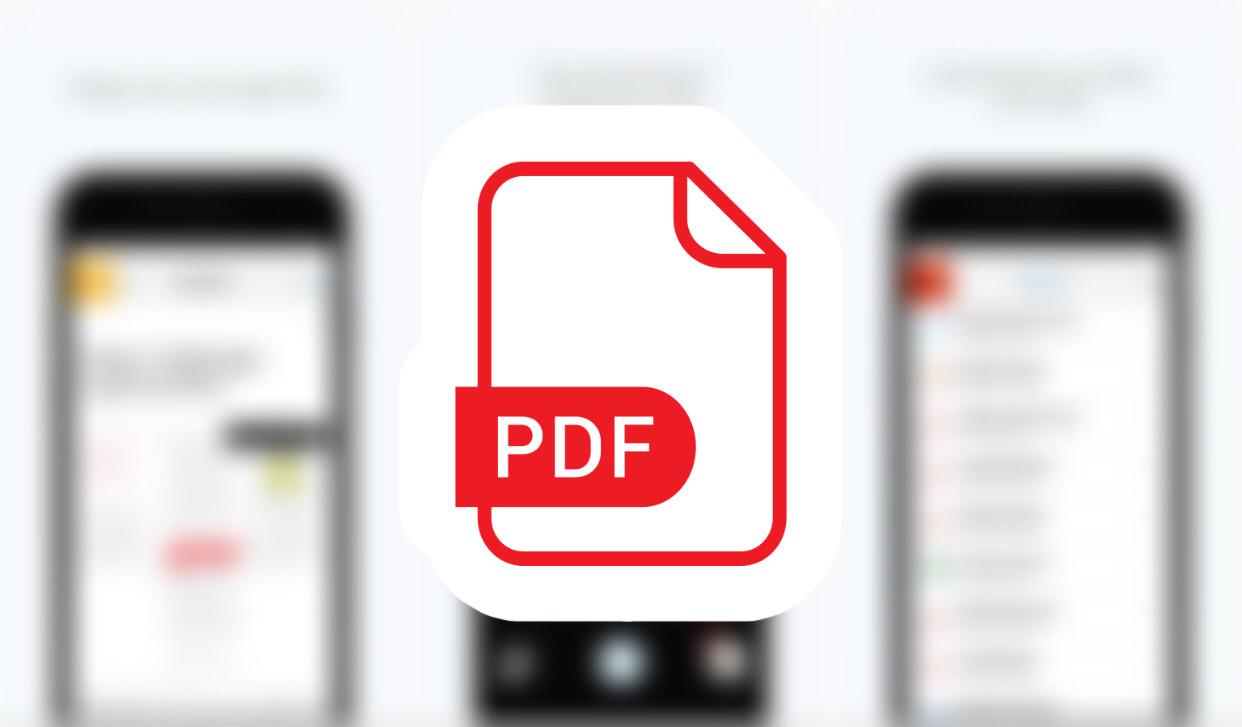Where are PDF files stored on iPhone